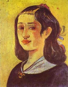 Portrait of a mother, 1894  Paul Gauguin