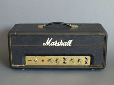 1971 20 watt Marshall head. Pretty basic amp but I'll bet you can pull some tone.