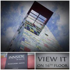Ein ungewöhnliches Hotel mit toller Aussicht über den Medienhafen in Düsseldorf