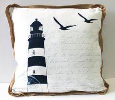 Lighthouse Stripe Throw Pillow (http://www.caseashells.com/lighthouse-stripe-throw-pillow/)