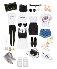 """""""🔱Look the day 🔱"""" by girlsbossbio on Polyvore featuring Pasquale Bruni, Nasaseasons, Chloé, Yves Saint Laurent, adidas, River Island, Sundry, Topshop, adidas Originals and Theory"""