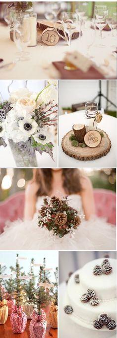 Decoration ideas: a wedding in winter - Decoration For Home Wedding Pins, Wedding Shoot, Wedding Day, Budget Wedding, Wedding Planning, Surprise Wedding, Winter Wonderland Wedding, Bride Bouquets, Winter Theme