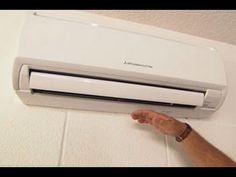 Split Air Conditioner For Sale. Where to find one cheap!  #split #air #conditioner   http://www.theairconditionerguide.com/how-to-find-a-split-air-conditioner-for-sale/ Mini Split Ac, Ductless Ac, Diy Air Conditioner, Compact Air Conditioner, Split System Air Conditioner, Cooling Unit, Heating And Air Conditioning, Mini Ac Unit, Home Remodeling
