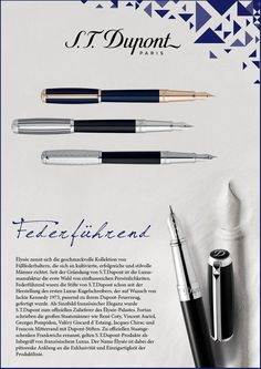 S.T. Dupont Paris - Writing instruments