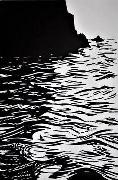 Dark Drawings, Doodle Drawings, Lino Art, Psychadelic Art, Linoprint, Water Art, Dope Art, Ciel, Pretty Pictures