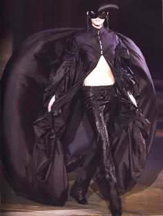 Alexander McQueen Fall/Winter 2002. The collection was called 'Supercalifragilistic' and had a fairy tale motif.