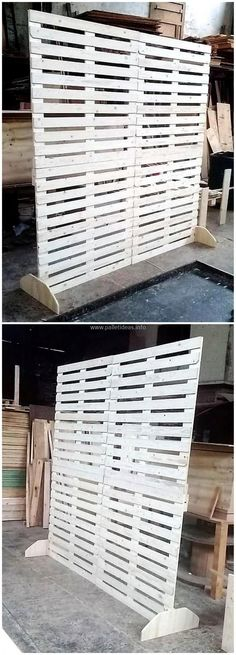 pallets space divider #pallets #woodpallets #palletfurniture #palletprojects #palletideas #recycle #recycledpallet #reclaimed #repurposed #reused #restore #upcycle #diy #palletart #pallet