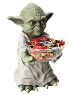 #Star #Wars #Yoda Candy Holder Decor #Halloween #Event Party #Jedi Prop Office Home