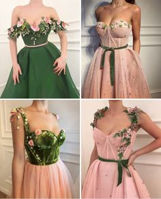Flower Prom Dress,Tulle Prom Gown,Appliques Prom Dress,A-Line Prom Gow – classygown The Effective Pictures We Offer You About gowns Dress … Elegant Dresses, Pretty Dresses, Beautiful Dresses, Formal Dresses, Wedding Dresses, Dresses Dresses, Prom Dresses Flowers, Vintage Prom Dresses, Dance Dresses