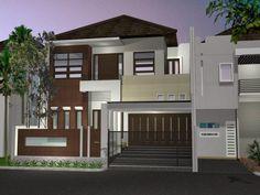 contoh rumah minimalis 2 lantai type 36