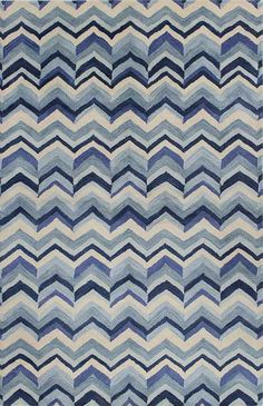 Chic hand tufted rugs for sale, at Hadinger Area Rug Gallery! (Nationwide shipping available.) A23Z S185-ST238 Blue