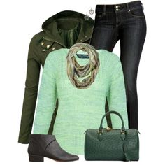 """""""Greens"""" Love this!!! And it's my favorite color!"""