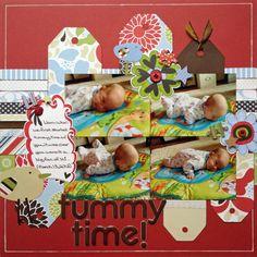 Tummy Time! - Scrapbook.com