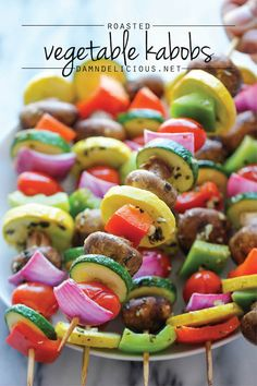 | Vegetable Kabobs |