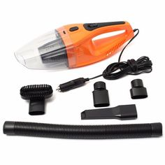 and Van Upholstery Powerful Suction to Pick Up Dry Debris and Dust THE BLACK SERIES Compact Handheld Auto Vacuum Cleaner and Attachments for Cars Trucks Uses 12 Volt Lighter Plug