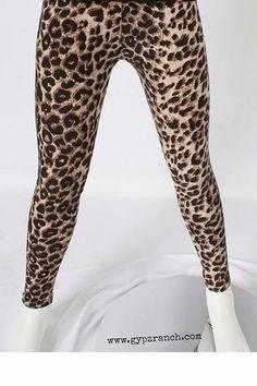 Kids Loco Leopard Leggings $ 10 Like us on Facebook @ GypZ Ranch