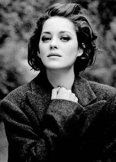 marion cotillard - oh my gosh, style role model; she is so lovely. she is so Vogue.