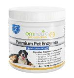 Digestive Enzymes for Dogs and Cats. All Natural Pet Digestive Enzymes for Cats and Dogs Enzyme Supplement Powder - Premium, Highest Quality Grade, All Natural Vegetarian, Lactose Free, Gluten Free, No GMOs, No Binders. Increase Energy Levels%
