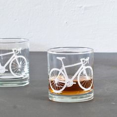http://www.etsy.com/listing/77077722/2-bicycle-rocks-glasses-white-bike?ref=v1_other_1