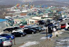 Владивосток авторынок Зеленый угол стал визитной карточкой города