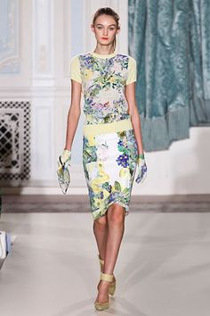 Erdem-this line has some gorgeous prints for Spring '12