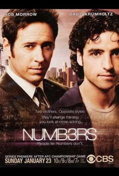 Numb3rs 27x40 TV Poster (2005)