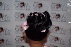 Back view of Tashauna's hairdo