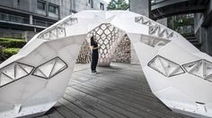 World's largest 3D-printed structure symbolizes the future of architecture Vulcan by LCD – Inhabitat - Sustainable Design Innovation, Eco Architecture, Green Building