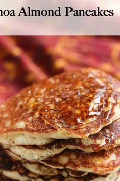 300 Calorie Breakfast, Almond Flour Pancakes, Under 300 Calories, Recipe Instructions, How To Cook Quinoa, Health And Nutrition, Breakfast Recipes, Food Ideas, Cooking