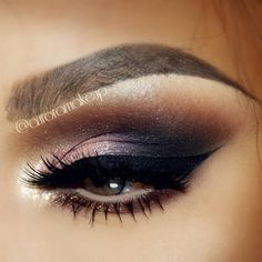 """Eye makeup deets Liquid eyeliner in BLACK by @bhcosmetics Eyes made using eye shadows SEXY, SLEEK, SERIOUS and STAND OFFISH from NUDEtude palette by…"""