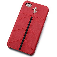 #Ferrari #California Leather Hard Shell Case for #iPhone 4 & 4S - Red $48.99 From #DayDeal
