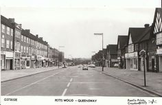 Petts Wood Old London, London Photos, Local History, Old Photos, Nostalgia, England, Street View, City, Childhood
