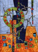 Art quilt - David Walker, In Search of True North