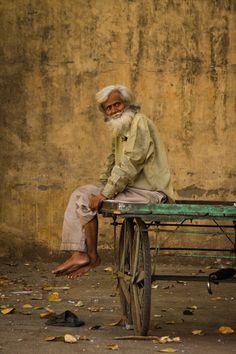 'Old Man In India' by Magali Tarouca.