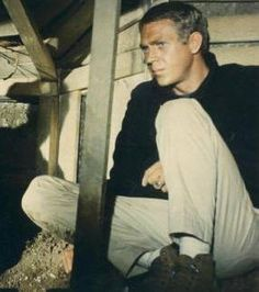 Richard Attenborough, left, with Steve McQueen in the The Great Escape. Stalag Luft Iii, Richard Attenborough, Ali Macgraw, Epic Film, The Great Escape, Film Base, Steve Mcqueen, Classic Tv, Best Memories