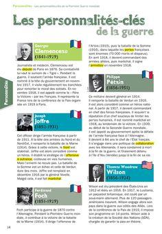 Fiche exposés : Les personnalités-cles de la guerre - enregistrer directement l'image via pinterest