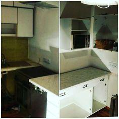 #umriss #kitchen tag 3  Wasser Abfluss Strom