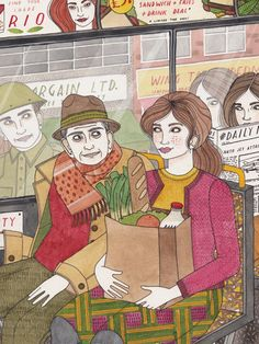 Editorial - Laura Callaghan Illustration
