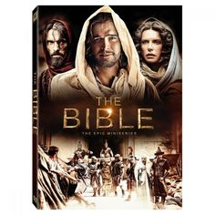 The Bible - The Epic 10-part Miniseries DVD. $40 from NBC online store.