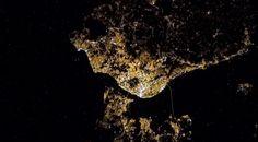 Astronauta partilha foto de Lisboa vista do espaço