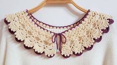 Crochet Earrings Pattern, Crochet Necklace, Baby Patterns, Knitting Patterns, Crochet Lingerie, Crochet Collar, Crochet Stitches, Crochet Baby, Jewelry Art