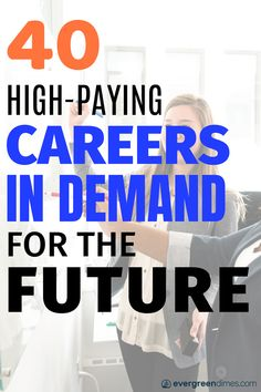 40 High-Paying Careers in Demand for The FutureLooking for career ideas for the future? Well this list of careers will help you plan a better future. Whether you're looking for your dream job or th. Job Career, Career Planning, Career Change, Career Advice, Career Ideas, New Career At 40, Career Quiz, Career Inspiration, Senior Boys