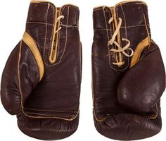Auction: Muhammad Ali's Gloves Worn vs. Sonny Liston Sell for $837K  Muhammad Ali page: https://www.facebook.com/MuhammadAligoat?ref=hl  #pifa #aligloves #sportsmemorabiliaauction