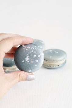 Macarons - The Moon and the Stars (brandin michelle) 16th Birthday, 2nd Birthday Parties, Birthday Ideas, 50th Party, Food Styling, Outer Space Party, Star Baby Showers, Star Party, Party Bags
