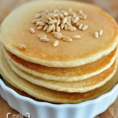 Whole Wheat Blender Pancakes - Save favorite recipes on Pinterest right to your recipe box. get.ziplist.com/clipper