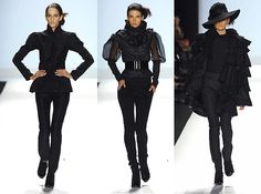 Opalescent: Fall 2008 Fashion Week - Project Runway: Christian Siriano
