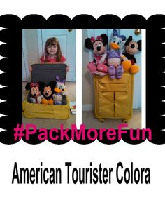 American Tourister Colora Lime Green Spinner