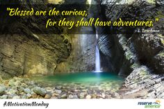 """""""Blessed are the curious, for they shall have adventures."""" - L. Drachman"""