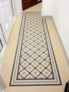 Brighten your hallway with Mosaic Assemblers timeless victorian designs for autumn