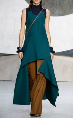 Marni Look 22 on Moda Operandi. Love these colors together
